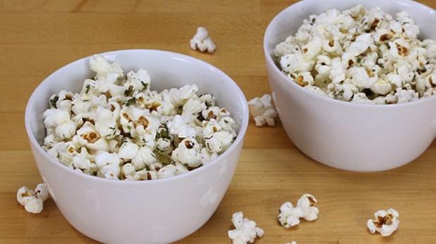 calories popcorn
